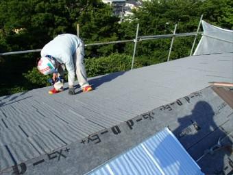 30年保証も付いている安心の屋根材です