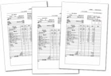使用建材と単価が明記された見積書