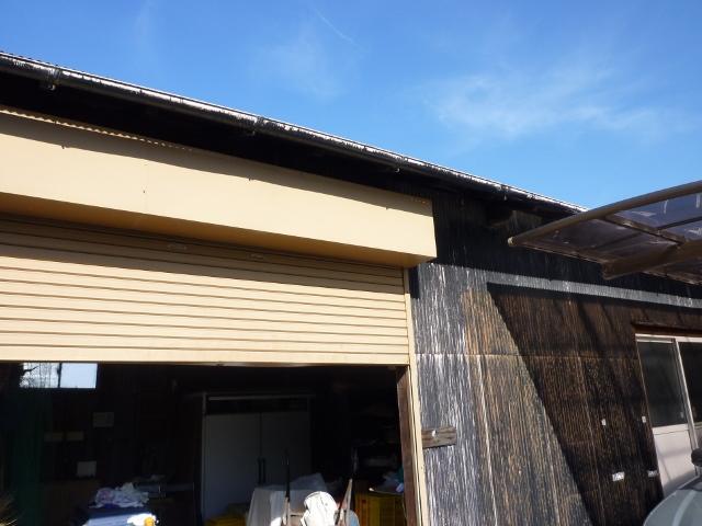 藤枝市大洲で倉庫の屋根と外壁をリフォーム