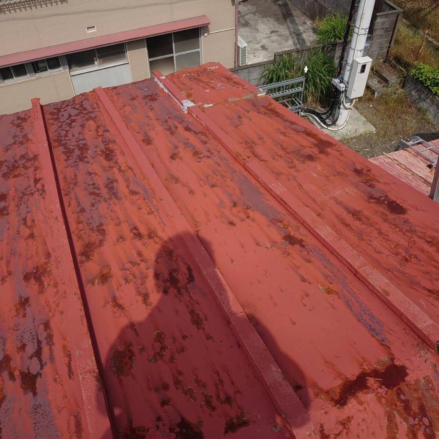 屋根修繕 錆