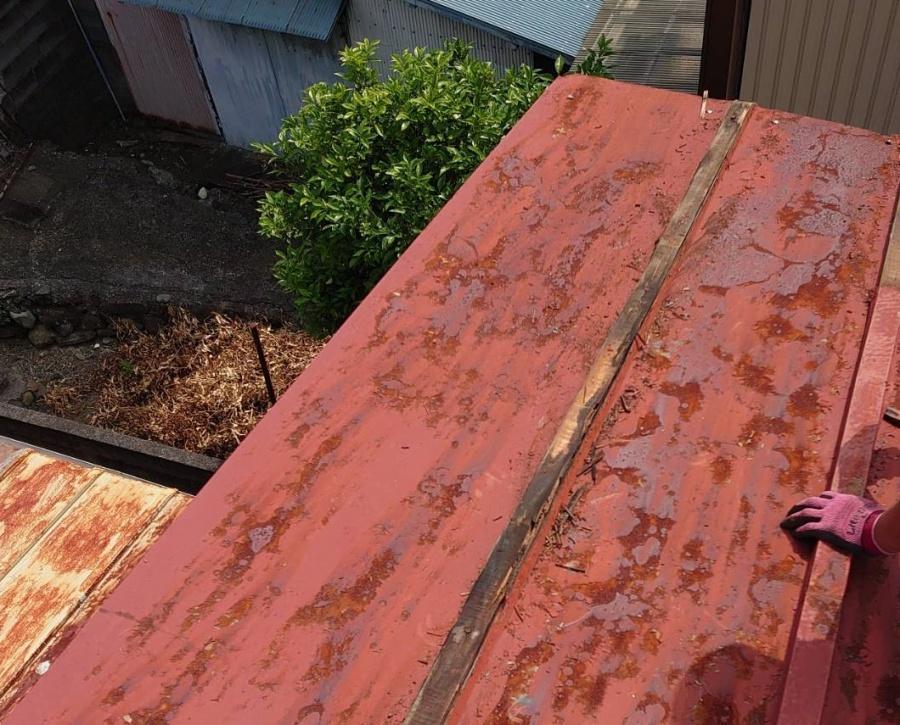 錆 屋根修繕