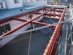 折版工事 ガルバリウム鋼板