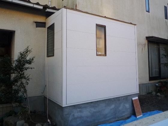 トイレ増築