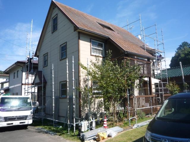 静岡市駿河区八幡5丁目で屋根の塗替え工事を行いました。