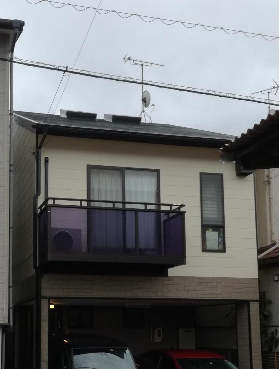 葵区大岩で雨漏り 原因は天窓?