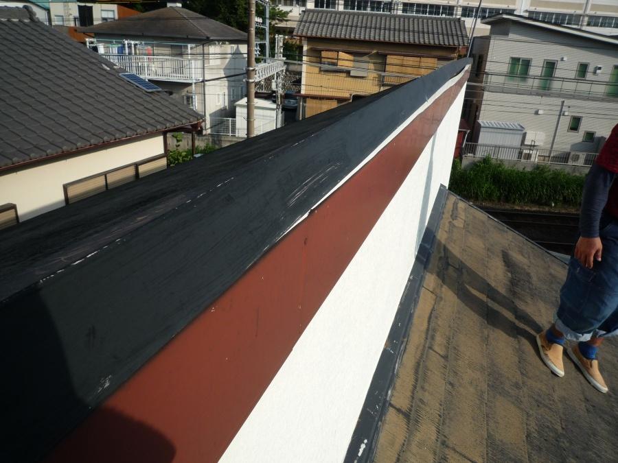 清水区七ツ新屋で屋根材の剥がれのご相談