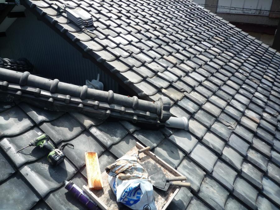 瓦屋根 修理