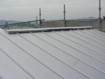 屋根板金工事通気工法