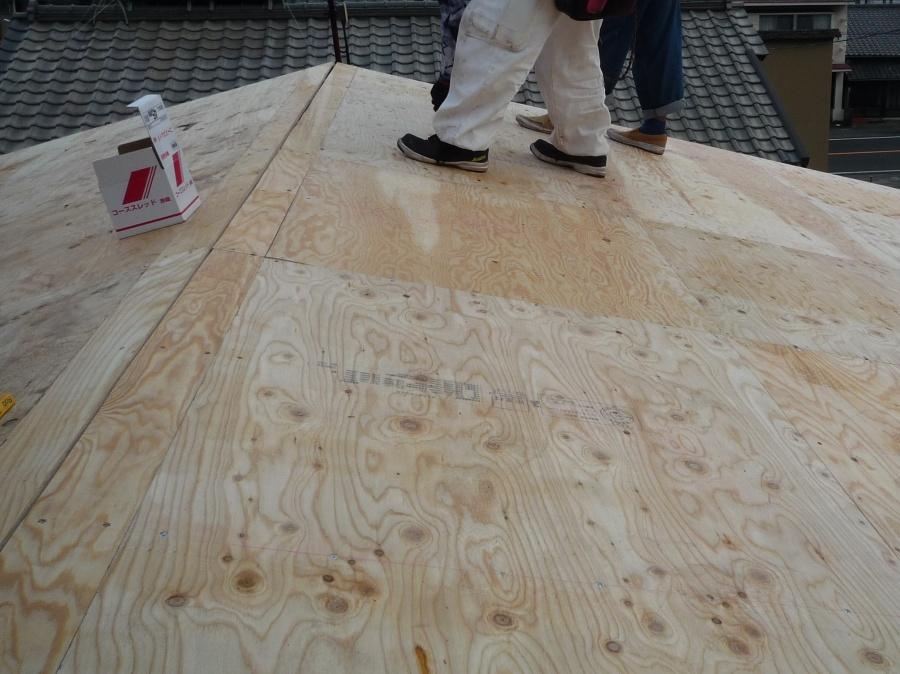 垂木屋根修繕