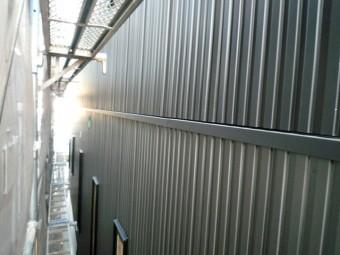 ガルバリウム外壁工事