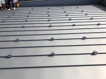 藤枝市大洲でソーラーパネル設置工事
