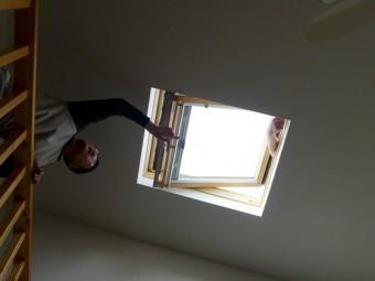 ロフトの天窓