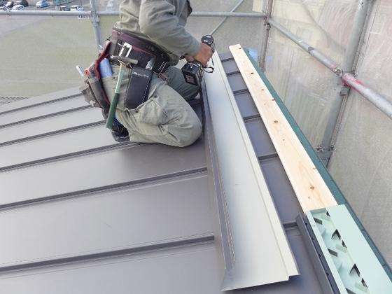 屋根工事です